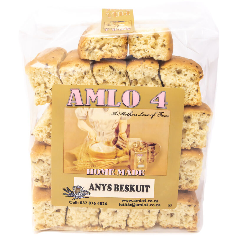 AMLO ANISEED RUSKS – 450G