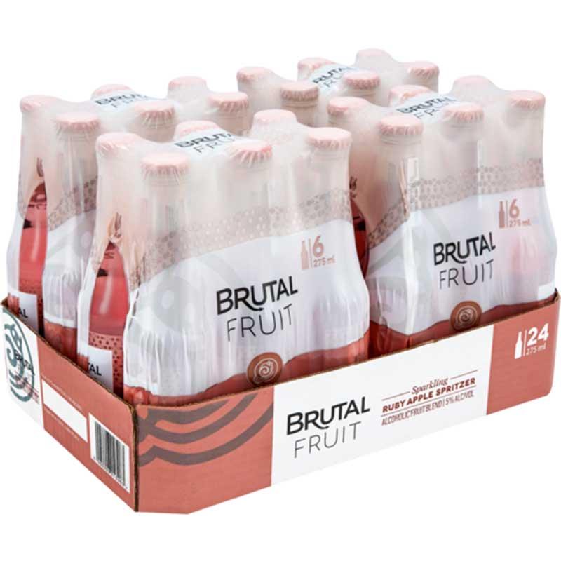BRUTAL FRUIT ORANGE RUBY APPLE SP – 275ML X 24