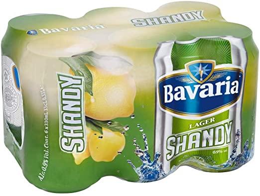 BAVARIA SHANDY CAN – 330ML X 6