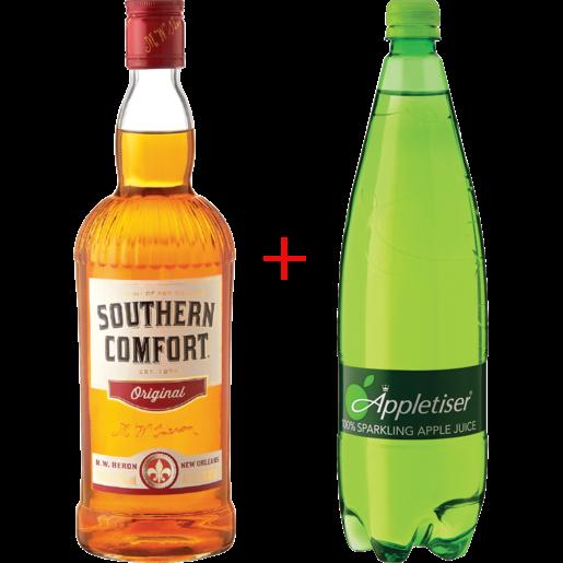 Southern Comfort + Appletiser 750ml